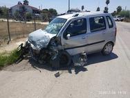 Ηλεία: Τροχαίο ατύχημα στην Παλαιά Εθνική Οδό Πατρών Πύργου (φωτο)