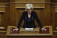 Η Σία Αναγνωστοπούλου στη Βουλή για το νομοσχέδιο του υπουργείου Παιδείας (video)