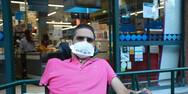 Ακτιβιστής ΑμεΑ: 'Αν νομίζεις ότι η μάσκα σε περιορίζει δεν ξέρεις από αληθινό περιορισμό'
