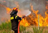 Υψηλός κίνδυνος πυρκαγιάς σε Αχαΐα και Ηλεία και την Πέμπτη