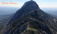 Αχαΐα - Εξερευνώντας από ψηλά, το Κάστρο Σανταμερίου στο όρος Σκόλις (video)
