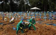 Covid-19: 541 νέοι θάνατοι στη Βραζιλία - Πλησιάζουν τις 48.000 οι νεκροί στο Μεξικό