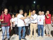 Ξεκίνησε το ταξίδι της ανά την Ελλάδα η Φλόγα της Αγάπης