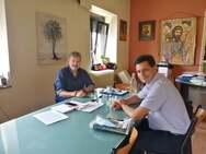 Επίσκεψη Πέτρου Ψωμά στον ρέκορντμαν της αυτοδιοίκησης