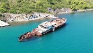 'Πετώντας' πάνω από το Ναυάγιο της Αυλίδος (video)