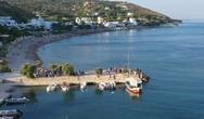 Χίος: Η περιφορά της εικόνας του Αγίου Αιμιλιανού με βάρκες (video)