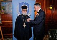 Βασιλείος Δημ. Γεωργιόπουλος: 'O πατέρας Χρυσόστομος Καράμπελας τιμήθηκε με το μετάλλιο Άλμπερτ Σβάιτσερ