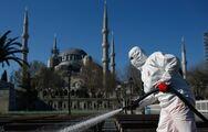 Τουρκία: 1.172 κρούσματα Covid-19 το τελευταίο 24ωρο
