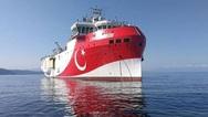 Αιγαίο: Το Oruc Reis απέπλευσε συνοδευόμενο από πολεμικά πλοία