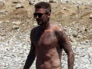 Ο Ντέιβιντ Μπέκαμ απολαμβάνει τις διακοπές του στην Ελλάδα