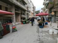 Πάτρα - Λαϊκές Αγορές: Απόσταση στους πάγκους και μάσκες για όλους