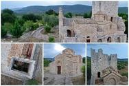 Παναγία η Χρυσαφίτισσα στα Χρύσαφα, το πάμπλουτο προπύργιο της Βυζαντινής Αυτοκρατορίας στη Λακωνία (video)
