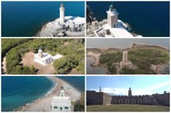 Mια ιδιαίτερη πτήση πάνω από τους Φάρους της Δυτικής Ελλάδας (video)