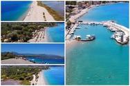 Αχαΐα - Η παραλία Αλυκή του Αιγίου από ψηλά (video)