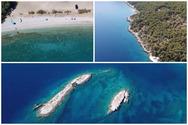 Μια εντυπωσιακή πτήση πάνω από την παραλία της Αλκυονίδος στην Κορινθία (video)