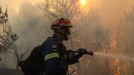 Σε ποιες περιοχές είναι υψηλός ο κίνδυνος πυρκαγιάς τη Δευτέρα