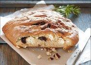 Σπιτικό ψωμί με ελιά