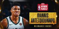 Γιάννης Αντετοκούνμπο - Αναδείχθηκε αμυντικός της χρονιάς στο NBA (video)