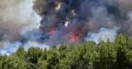 Πυρκαγιά στην Αγία Πελαγία της Κρήτης (video)