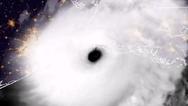 Η στιγμή που ο κυκλώνας «Λόρα» μπαίνει στη Λουιζιάνα