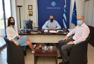 Πάτρα: Πραγματοποιήθηκε η συνάντηση του Περιφερειάρχη με τη Διευθύντρια Πολιτισμού και Νεολαίας της UNESCO, Πειραιώς και Νήσων