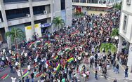 Ιστορική αντικυβερνητική διαδήλωση στον Μαυρίκιο