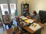 Χριστίνα Αλεξοπούλου - Συνάντηση με τους Διευθυντές Πρωτοβάθμιας και Δευτεροβάθμιας Εκπαίδευσης Αχαΐας