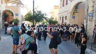 Επεισόδια στα Χανιά μετά από εκκένωση κτιρίου (video)