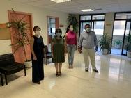 Στον Κεντρικό και στον ΕΦΚΑ Αγίου Αλεξίου, η Χριστίνα Αλεξοπούλου (φωτο)