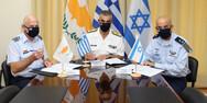 Υπεγράφη το πρόγραμμα τριμερούς στρατιωτικής συνεργασίας Ελλάδας - Κύπρου - Ισραήλ