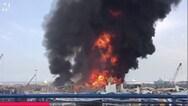 Βηρυτός - Συναγερμός για μεγάλη πυρκαγιά σε αποθήκη στο λιμάνι (video)