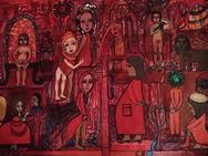 Έκθεση 'Το Κόκκινο Χρώμα' στην ArteVisione Gallery
