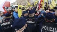 Κορωνοϊός - Διαδήλωση κατά των μασκών και των εμβολίων στη Πολωνία