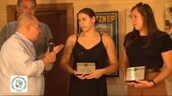 Η ΕΠΣ Αχαΐας τίμησε τις αδελφές Μπαλάτσα της Ν.Ε. Πατρών