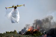 Παραμένει υψηλός κίνδυνος πυρκαγιάς στη Δυτική Ελλάδαγια σήμερα Δευτέρα