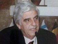 Το Πανεπιστήμιο Πατρών 'αποχαιρετά' τον καθηγητή Ιατρικής Ιωάννη Βαράκη