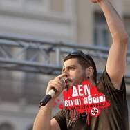 Αντιφασιστικό Συλλαλητήριο' Οι Ναζί της Χρυσής Αυγής στη Φυλακή' στην Πλατεία Γεωργίου