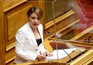 Χριστίνα Αλεξοπούλου: 'Οι μαθητές στα θρανία, όχι στην πορεία'