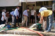 Τσίπρας για Ιανό: Ασπιρίνες οι αποζημιώσεις της κυβέρνησης - Ολική η καταστροφή