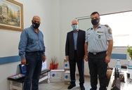 Παραδόθηκαν μέσα ατομικής προστασίας στο Αστυνομικό Τμήμα Κάτω Αχαΐας
