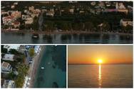 Εναέρια βόλτα στα Βραχνέικα - Εκεί που το θαλασσινό αγέρι 'δένει' με το πράσινο (video)