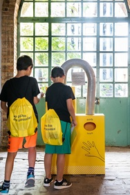 «Μια βόλτα στο μουσείο με… σακίδιο» στο Βιομηχανικό Μουσείο Φωταερίου