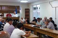 Ένταση και... ξύλο, στο Δημοτικό Συμβούλιο Δυτικής Αχαΐας (video)