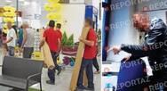 Σεκιουριτάς 'ανακρίνει' πελάτη για κλοπή σε κατάστημα της Πάτρας! (video)