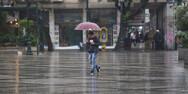 Έκτακτο δελτίο επιδείνωσης του καιρού - Βροχές και καταιγίδες στη Δυτική Ελλάδα