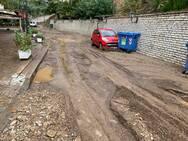 Η κακοκαιρία έκλεισε δρόμους στην Αιτωλοακαρνανία (φωτο)