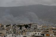 Υπό μερικό έλεγχο τέθηκε η πυρκαγιά στο Βύρωνα