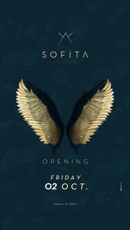 Opening Friday at Sofita bar
