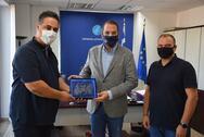 Επίσκεψη της Ένωσης Αστυνομικών Υπαλλήλων Αχαΐας στην Περιφέρεια Δυτικής Ελλάδας