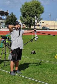 ΑΟΠ Ερμής: Ο Ανδρέας Ζαχαράκης ετοιμάζεται για την εθνική ομάδα τοξοβολίας!